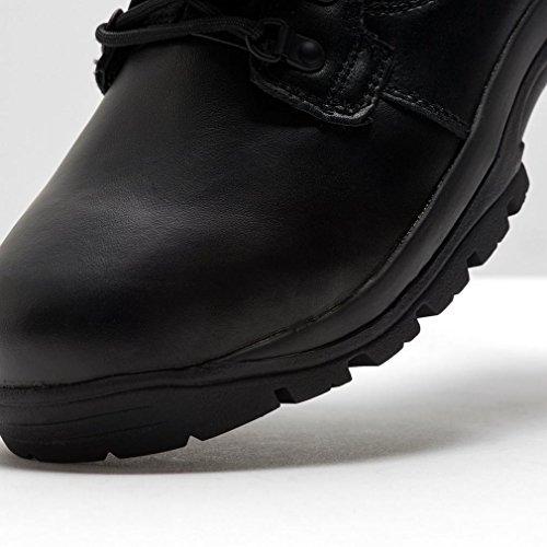 MAGNUM Chaussures montantes imperméables en cuir Elite II Unisexe Noir