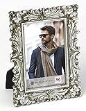 walther design QS015S Saint Germain Portraitrahmen, 10 x 15 cm, silber