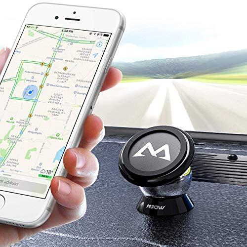 Handyhalter fürs Auto Mpow Magnet Handyhalterung Auto KFZ Smartphone Halterung KFZ Handy Halter für Auto KFZ Handy Halterung für iPhone,Galaxy,HTC, jedes andere Smartphone oder GPS-Gerät, Autozubehör