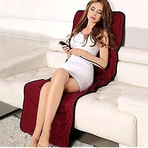 Elektrische Heizung Multifunktionale Körpermassage Kissen, Hals Schulter Taille Bein Vibrationsmassage Stuhl Für Den Heimgebrauch