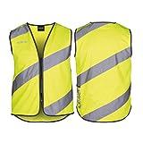 Wowow 'Roadie' gilet de sécurité réflexe-vest Gilet de Sécurité pour hommes et femmes - Jaune, XL