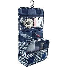 Emwel bolsa de cosméticos bolsa de aseo para hombres y mujeres de viaje camping cosas necesarias cosméticos estuche de maquillaje bolso