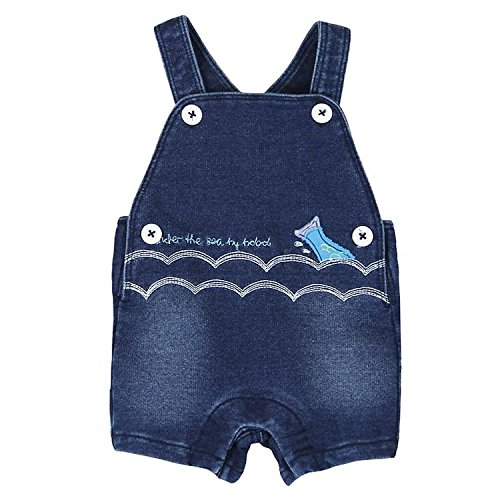 Boboli Lovely Blue Baby Jungen Latzhose-92 - Kindermode : Baby - Jungen