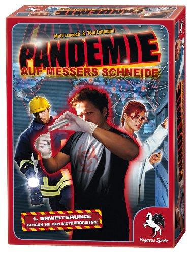 """Preisvergleich Produktbild Pegasus Spiele 51326G - Pandemie """"Auf Messers Schneide"""", Erweiterung"""