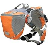 Anself Pet Pack Hund Satteltasche Rucksack mittlerer und großer große Hunde zum Outdoor Wandern Camping Ausbildung