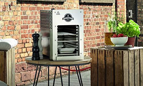 Jamestown BRAD Steakgrill mit Hochleistungs-Gasbrenner für Temperaturen von bis zu 800°C inkl. praktischer