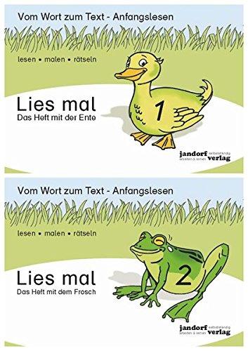 Lies mal - Hefte 1 und 2 (Paket): Vom Wort zum Text - Anfangslesen par Jan Debbrecht, Peter Wachendorf