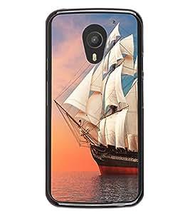 Ship in the Sea 2D Hard Polycarbonate Designer Back Case Cover for Meizu M1 Note