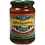 PESTO & PIU Sauce Tomate Puttanesca Olives/Origan 340 g - Lot de 4