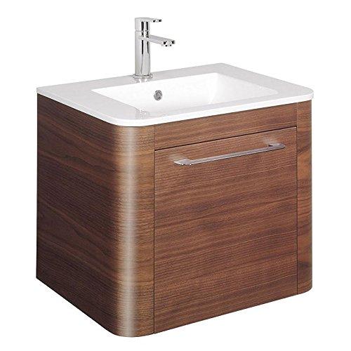 Bauhaus Celeste 60Einheit mit Becken Amerikanischer Nussbaum bc60aw -