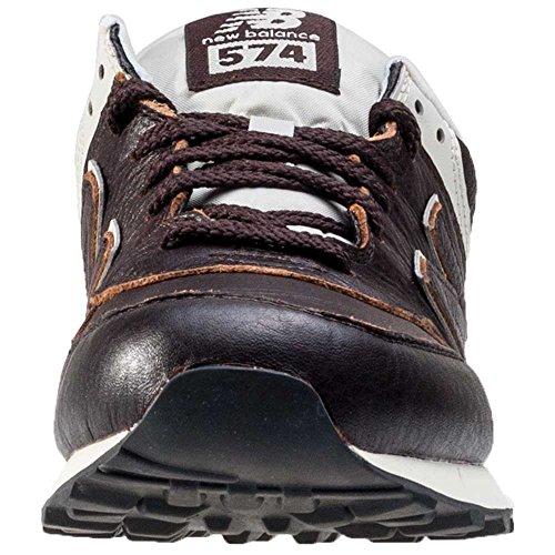 New Balance Ml574lua-574, Chaussures de Running Entrainement Homme Dark Brown