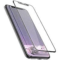 iPhone X Panzerglas Schutzfolie prsTECH® Displayschutzfolie 3D vollständige Abdeckung 9H Härte Anti Kratzer und Blasen für iPhone X