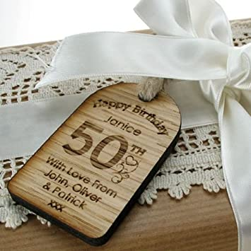 Free Unique 50th Birthday Gift For Men
