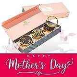 VAHDAM, Juego de regalo de té surtido - BLUSH - 3 tés en una caja de regalo de muestra de té    Ingredientes 100% naturales   Regalo dia de la Madre   Regalos para Madres   Regalos para Mama