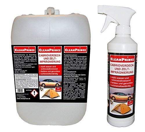 cleanprince-5500-ml-cabrioverdeck-und-zelt-imprgnierspray-55-LITRO-CABRIO-CABRIOLET-cabrioimprgnierung-cabrioletimprgnierung-Convertible-IDROREPELLENTE-CAPPOTTA-AUTO-TESSUTO