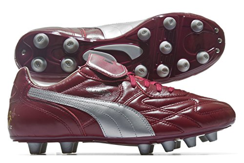 King Top City di Bordeaux FG - Crampons de Foot - Cordovan/Argent silver