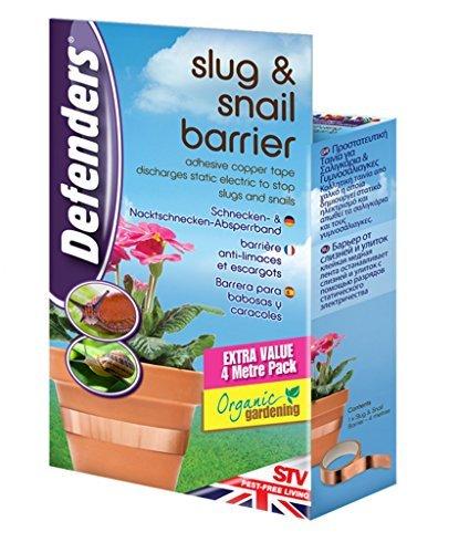 4 Meter Slug Snail Copper Poisen Free Barrier Tape Self Adhesive Brand New