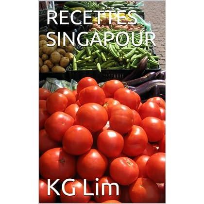 RECETTES SINGAPOUR