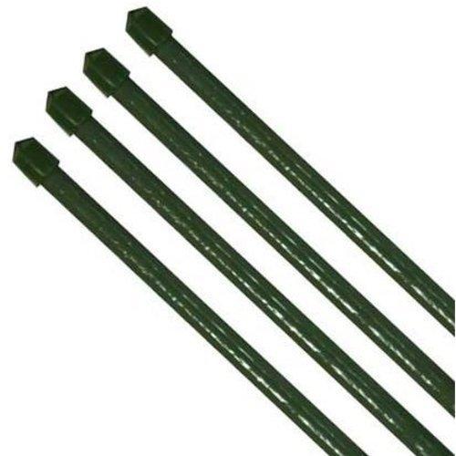 10 x Tuteur pflanzenstab fibres de coco vert diamètre 11 x 1200 mm