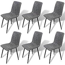 Stühle modern  Suchergebnis auf Amazon.de für: 6 esszimmer stühle modern