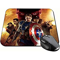 Capitan America Captain America Chris Evans A Alfombrilla Mousepad PC