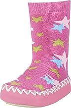 Playshoes Chaussettes Pantoufle, Chausson Mixte Enfant, Rose (Pink 18), 27/30 EU