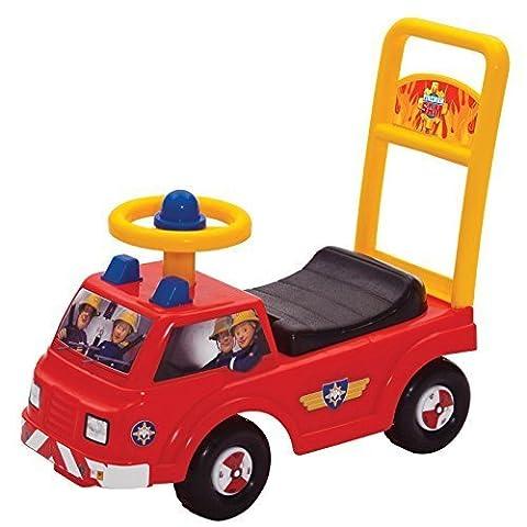Infants Official Fireman Sam Jupiter My First Ride On Anti Slip Push Along Car
