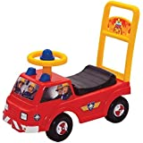 Infants Official Fireman Sam Jupiter My First Ride On Anti Slip Push Along Car