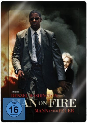 Man on fire - Mann unter Feuer - Steelbook (2 DVDs inkl. Poster)