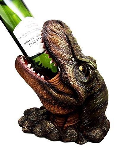 Atlantic Collectibles Weinflaschenhalter, Dinosaurier-Motiv, 26 cm hoch
