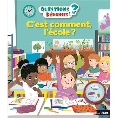 C'est comment l'école ? - Questions/Réponses - doc dès 5 ans (39)