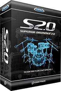Toontrack Superior Drummer 2.0Software battery