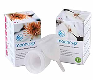 1 Pack of Mooncup Menstrual Cup Size B 1 Pieces