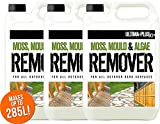 15L of Ultima-Plus XP Moss, Mould & Algae Killer - Cleaner, Remover, Concentrate - For All Outdoor Hard Surfaces Including Patio, Fencing & Decking - Most Powerful On The Market - 100% More Active Ingredient Than Other Brands