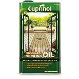 Cuprinol UV Guard Decking Oil Natural Pine 5L