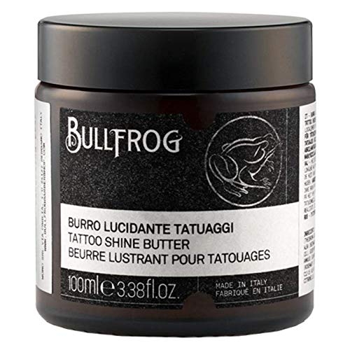 BULLFROG Tattoo shine Butter 100ml* - Moschus, Talkum