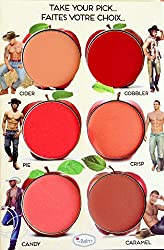 ADS How bout Them Apples Cheek and Lip Cream Palette (6 Colors)