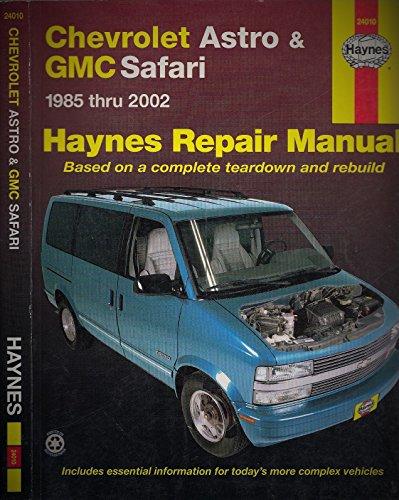 Gmc Safari Mini-Vans Automotive Repair Manual: 1985 Through 2002: 1985-2002 (Hayne's Automotive Repair Manual) ()