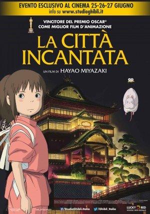 SPIRITED AWAY – Italian Imported Movie Wall Poster Print – 30CM X 43CM Brand New Sen to Chihiro no kamikakushi