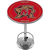 Trademark Gameroom NCAA Universidad de Maryland cromo Pub Table