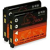 Bundle - 2x Power Batterie Olympus Li-40B | Li-42B / Nikon EN-EL10 / Fuji NP-45 / Pentax D-Li63 / Kodak Klic-7006 / Casio NP-80 pour Fuji FinePix J10 | J15 | J100 | J110w | J150w | Z10fd | Z20fd | Z100 | Z100fd | Z200fd | Kodak EasyShare M883 | M873 | Nikon S200 | S210 | S220 | S230 | S500 | S510 | S520 | S600 | S700 et bien plus encore...