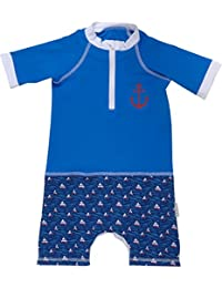 FEDJOA - Maillot Anti-UV bébé - LITTLE POMPON - Combinaison anti sable
