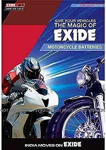 XLTZ5 Exide Sealed Battery for Bikes