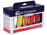 Art Creation Essentials Acrylfarbe Set 12x 75ml