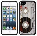 Kassetten Retro Musik | Handgefertigt beim Verkäufer Case Creatives | iPhone 5 5s SE | Schwarze Hülle