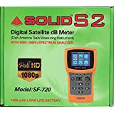 Inditrust Solid SF 720 Satellite DB Meter Finder With Rechargeable Battery And LED Display