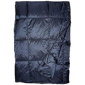 SLEEPHIX Daunen Outdoor Camping Decke   Wasserabweisend   Nylon Hülle mit Daunenfüllung   Ideal für Camping, Flugzeugreisen, Backpacking, Segeln, Terrasse und Heimnutzung   Füllkraft: 650
