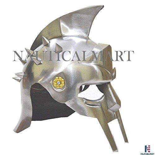 NAUTICAL MART Nautisches Mart Mittelalter Spartan Armor-decimus Gladiator Helmet-Movie Replica Kostüm Maximus