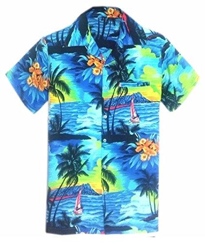 SAITARK-Camisa-Casual-Para-Hombre-B-BPN-Medium