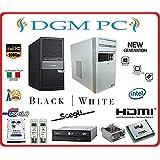 SALDI ESTIVI!! PC DESKTOP ASSEMBLATO COMPLETO COMPUTER FISSO / ALIMENTATORE 500W / INTEL QUAD CORE 2GHZ / RAM 8GB DDR3 / HARD DISK 1000GB / DVD-RW / HDMI / USB 3.0 / INSTALLAZIONE SISTEMA OPERATIVO WINDOWS